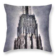 Tulsa Art Deco IIi Throw Pillow