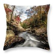 Tumbling Water Throw Pillow