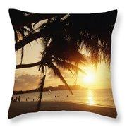 Tumon Bay Throw Pillow