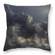 Tumultuous Nature Throw Pillow