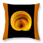 Tun Shell Throw Pillow