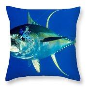 Tuna Magic Throw Pillow