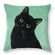 Tuna? Throw Pillow