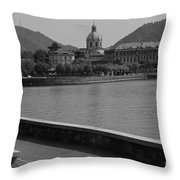 Tune In Throw Pillow