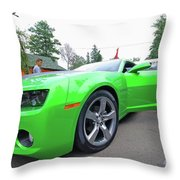 Tuned Chevrolet Throw Pillow
