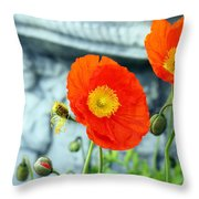 Tuned In Throw Pillow