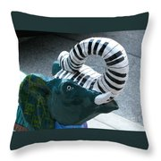 Tuneful Trunk Throw Pillow