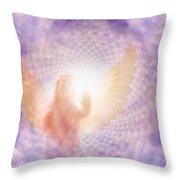 Tunel Of Light Throw Pillow