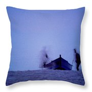 Tunesian Night Throw Pillow
