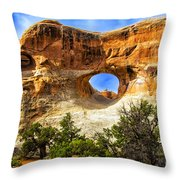 Tunnel Arch Throw Pillow