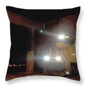 Tunnel Light Throw Pillow