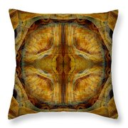 Tunnel Of Separation Throw Pillow