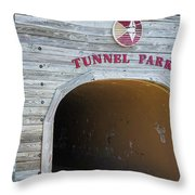 Tunnel Park, Holland Mi Throw Pillow