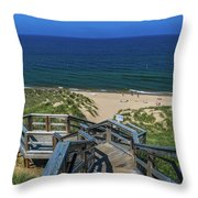 Tunnel Park Holland Michigan Throw Pillow