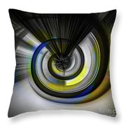 Tunnel To Nowhere Throw Pillow