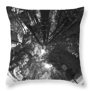 Tunneling The Street Throw Pillow