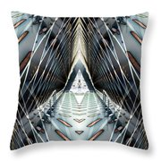 Tunnels End Throw Pillow