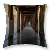 Tunnelscape Throw Pillow