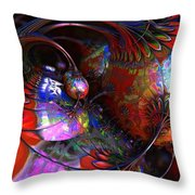 Tuns Of Paint Throw Pillow