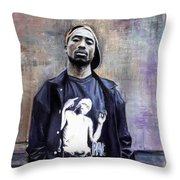 Tupac Shakur Throw Pillow