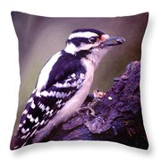 Tuppence A Bag... Throw Pillow