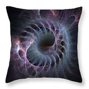 Turbination Throw Pillow