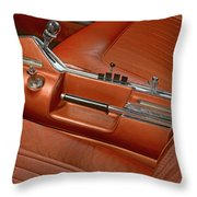 Turbine Console Throw Pillow