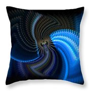 Turbine Dynamo Throw Pillow