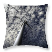 Turbine Throw Pillow