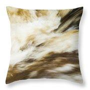 Turbulence Two Throw Pillow