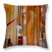 Turbulent Times Throw Pillow