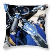 Turgalium Motorcycle Club 02 Throw Pillow