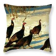 Turkey Call Throw Pillow