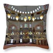 Turkey, Instabul Mosque  Throw Pillow