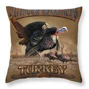 Turkey Traditions Throw Pillow by JQ Licensing