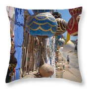 Turkish Lamps Throw Pillow
