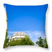 Turkish Mosque Throw Pillow