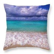 Turks And Caicos Beach Throw Pillow