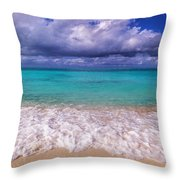 Turks And Caicos Beach Throw Pillow