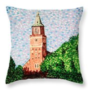 Turku Cathedral  Throw Pillow