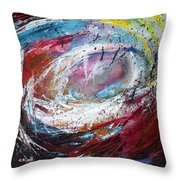 Turmoils #1  Throw Pillow