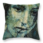Turn Down These Voices Inside My Head Throw Pillow