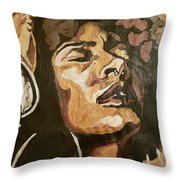 Turn Up The Quiet Throw Pillow