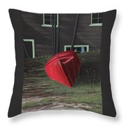 Turned Down Day Throw Pillow