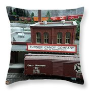 Turner Candy Co Throw Pillow