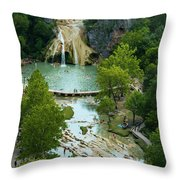 Turner Falls Grand View Two Throw Pillow