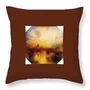 Turner Joseph Mallord William The Exile And The Snail Joseph Mallord William Turner Throw Pillow