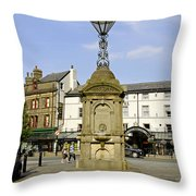 Turner's Memorial At Buxton Throw Pillow