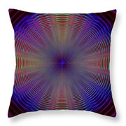 Turning And Spinning Throw Pillow