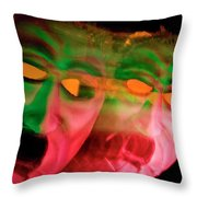 Turning Green With Envy Throw Pillow